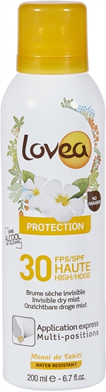 LOVEA PROTECTION 30 SPRAY | Zonnecrème, zonnelotion of zonnespray?