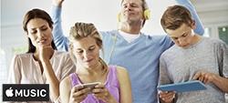 Apple Music: voordelig voor een gezinsabonnement