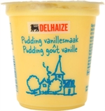 DELHAIZE Pudding vanillesmaak