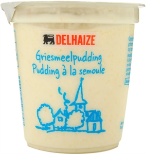 DELHAIZE Griesmeelpudding