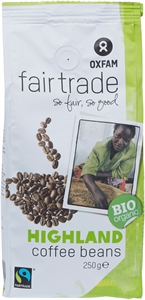 OXFAM FAIRTRADE HIGHLAND COFFEE BEANS | Test OXFAM FAIRTRADE HIGHLAND COFFEE BEANS - Test Aankoop